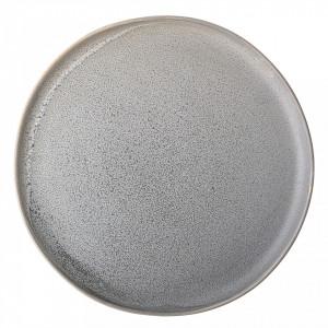 Farfurie gri din ceramica 27,5 cm Bloomingville