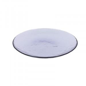 Farfurie mov din sticla pentru desert 20,8 cm Rori La Forma
