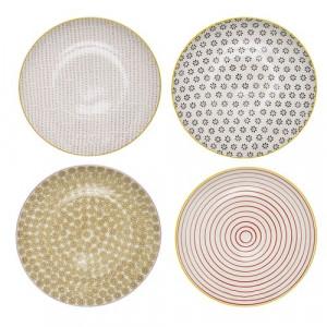 Farfurie multicilora din ceramica 25 cm Susie Bloomingville