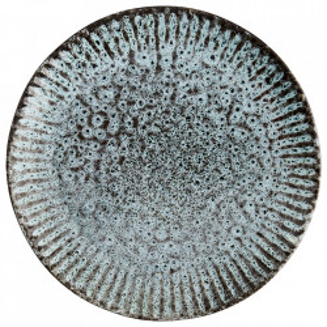 Farfurie verde/neagra din ceramica 27,5 cm Ansh Madam Stoltz