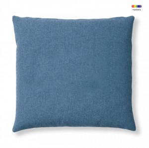 Fata de perna albastru inchis din textil 45x45 cm Mak Varese La Forma