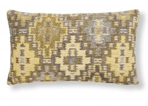 Fata de perna multicolora din textil 30x50 cm Cuzco Combination Mustard La Forma