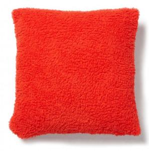 Fata de perna portocalie din textil 45x45 cm Capman La Forma