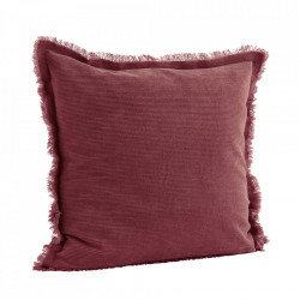 Fata de perna rosie din bumbac 50x50 cm Clair Madam Stoltz