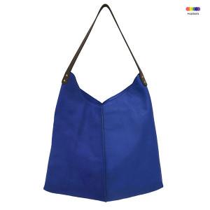 Geanta albastra din piele de vaca Electric Blue Bag HK Living