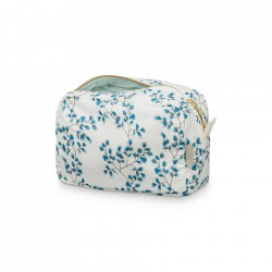 Geanta multicolora din bumbac organic pentru cosmetice Fiori Cam Cam