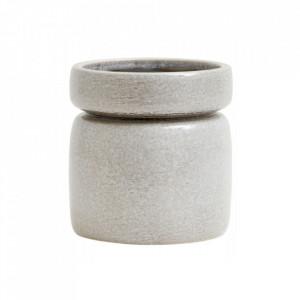 Ghiveci gri deschis din ceramica 16 cm Isa Nordal