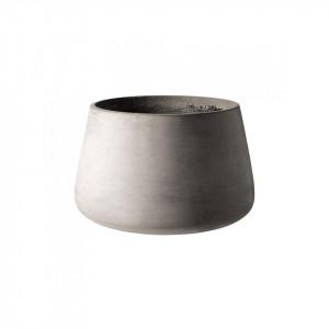 Ghiveci gri din ciment 31,5 cm Mixture Bolia
