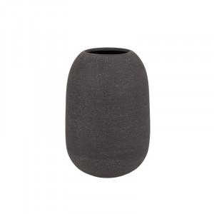 Ghiveci gri din rasina poliuretanica cu pulbere de piatra 29 cm Minu Lifestyle Home Collection