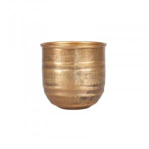 Ghiveci maro alama din aluminiu 15 cm Fumi Lifestyle Home Collection