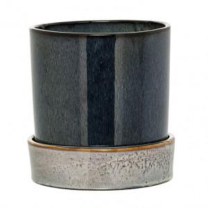 Ghiveci verde din ceramica 14 cm Ring Bloomingville