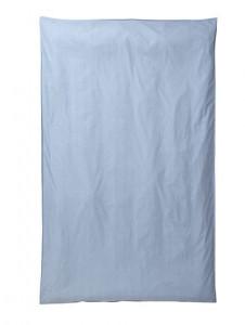 Husa albastru deschis din bumbac pentru pilota 140x220 cm Hush Ferm Living