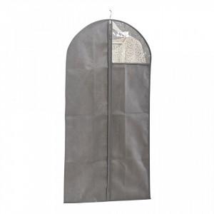 Husa gri din fleece pentru haine Coat Hanger Window Bigger Zeller