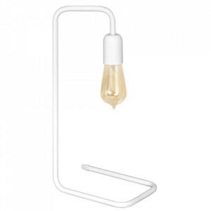 Lampa birou alba din metal 43 cm Eko Lewa Aldex