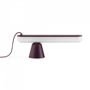 Lampa birou mov din plastic acrilic cu LED 16 cm Acrobat Normann Copenhagen