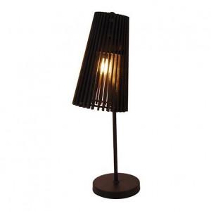 Lampa birou neagra din lemn 55 cm Osaka Candellux