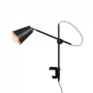 Lampa birou neagra din metal 50 cm Arte Aldex