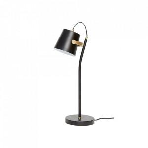 Lampa birou neagra/maro alama din metal 58 cm Office Lamp Hubsch