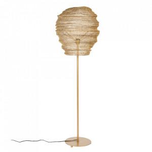 Lampadar auriu din fier 154 cm Lena White Label