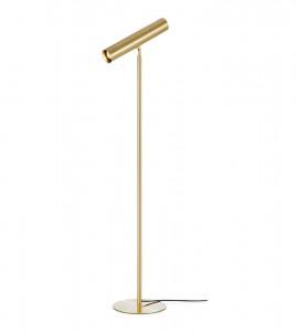 Lampadar auriu din metal 147 cm Ruben Floor Sandy Markslojd