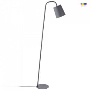 Lampadar gri din fier 166 cm Leo Zago