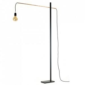 Lampadar negru din fier 162 cm Flamingo Serax