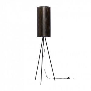 Lampadar negru din metal 130 cm Trio Hubsch