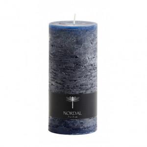 Lumanare albastra din parafina 15 cm Danny Nordal