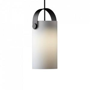 Lustra alba din sticla si metal OOTG Frandsen Lighting