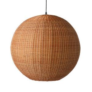 Lustra maro din bambus si fier Huge Ball HK Living