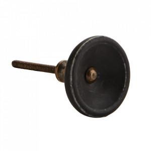 Maner negru din portelan 4 cm Madam Stoltz