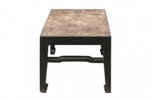 Masa cafea neagra din lemn 41x40cm Shanxi Versmissen