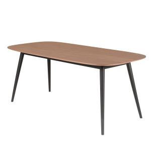 Masa dining din lemn si metal 180x90 cm Calypso Zago