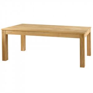 Masa dining extensibila din lemn de tec 100x(200)250 cm Sumba Zago