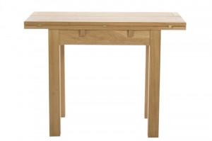 Masa dining extensibila maro din lemn 45(90)x100 cm Kenley Actona Company