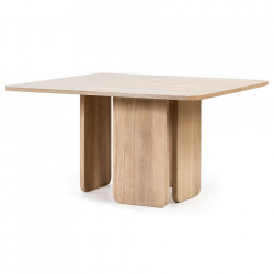 Masa dining maro din lemn 137x137 cm Arq Teulat