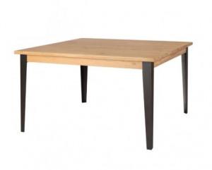 Masa dining maro din lemn 140x140 cm Manhattan Zago