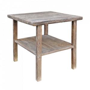 Masa dining maro din lemn de nuc 79x80 cm Shandong Versmissen