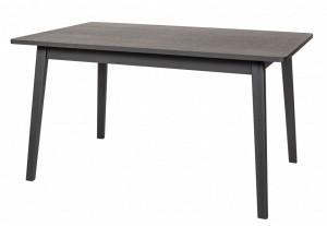 Masa dining neagra din lemn 90x140 cm Skagen Black Woodman