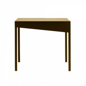 Masuta aurie pentru cafea din metal 80x80 cm Obroos Custom Form