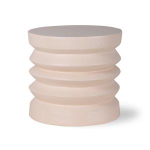 Masuta crem din ceramica 38 cm Anais HK Living