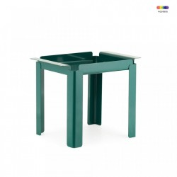 Masuta verde din otel 33x48 cm Box Table Normann Copenhagen