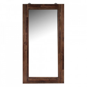 Oglinda dreptunghiulara maro din lemn 100x200 cm Tromso High Vical Home