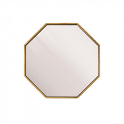 Oglinda hexagonala din MDF 30x30 cm Leva Lifestyle Home Collection