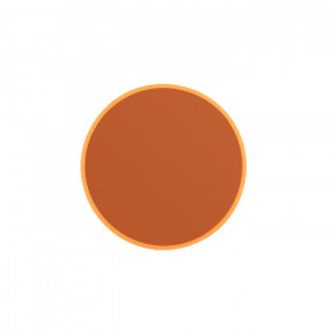 Oglinda rotunda portocalie din metal 30 cm You're So Ugly S Bold Monkey
