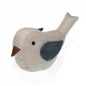 Opritor usa crem/albastru din textil Bird Versa Home