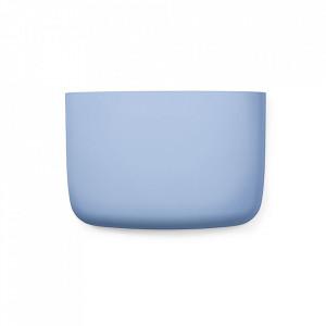 Organizator de perete albastru din plastic 28 cm Pocket Normann Copenhagen