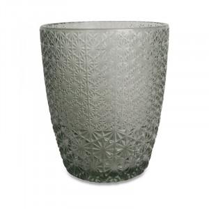 Pahar gri din sticla 8,5x10 cm Cailean Opjet Paris