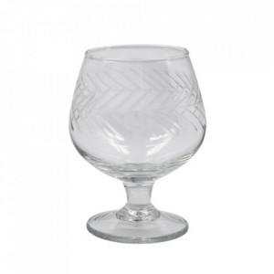 Pahar pentru coniac transparent din sticla 7x11 cm Crys House Doctor