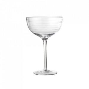 Pahar transparent din sticla pentru sampanie 350 ml Alva Bloomingville